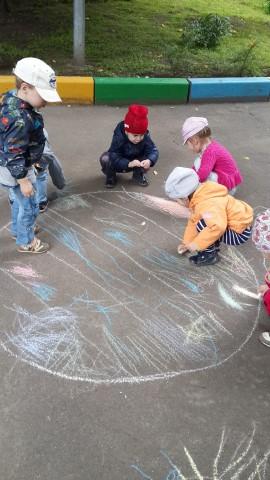 Конкурс рисунков на асфальте задачи